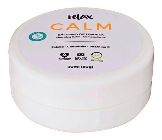 Relax - Calm - Bálsamo De Limpeza Facial - Demaquilante