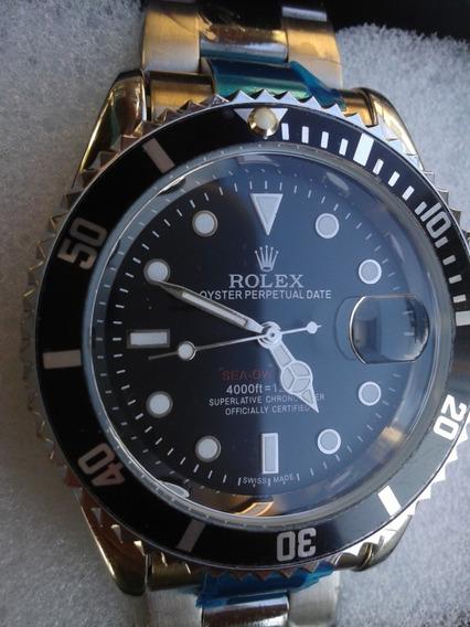Relogio Submariner Black Todo Funcional