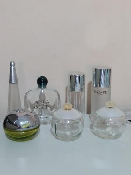 Frascos De Perfumes Importados Vacíos