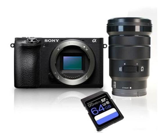 Kit Sony A6500+sony 18-105 Gm