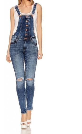 Bragas / Overol Larga Quiz Cloting - Azul Jeans - Talla 6