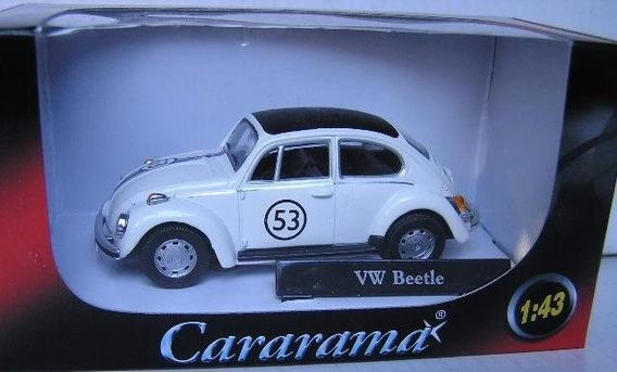 Miniatura Vw Fusca Herbie Cararama 1:43 Novo / Lacrado !!!