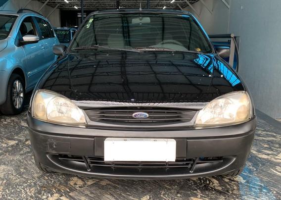 Ford Fiesta Street 1.0 8v 2002 2p Preto