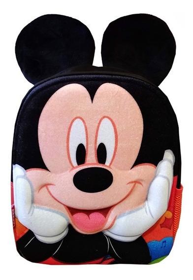 Mochila Mickey Orejas 12 Pulgadas Jardin Disney Original