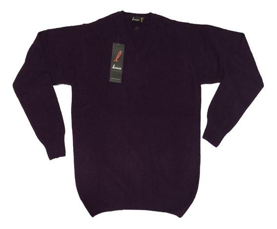 Sweater Bremer En V Lana Y Pelo Lurisia