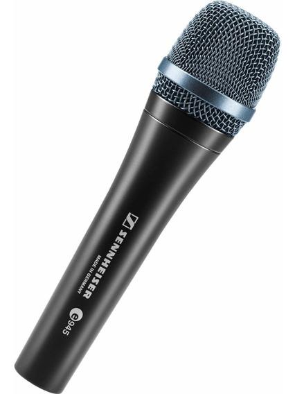 Microfone Sennheiser E945 Alemão 2 Pecas