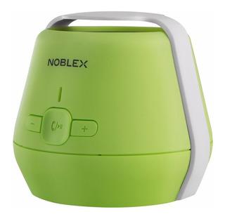 Parlante Portatil Noblex C/bluetooch Verde Psb170ts