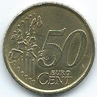 Moneda De España 50 Cent De Euro 1999 Muy Bueno 10