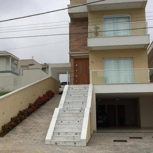 Sobrado Com 4 Dormitórios À Venda, 316 M² Condomínio Real Park - Arujá/sp - So0305