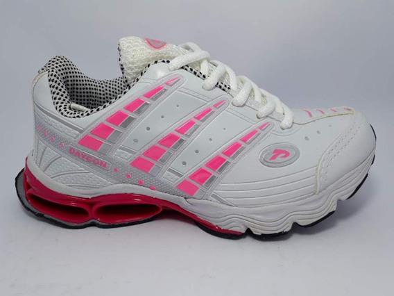 Tenis Daycon 075 Branco Pink