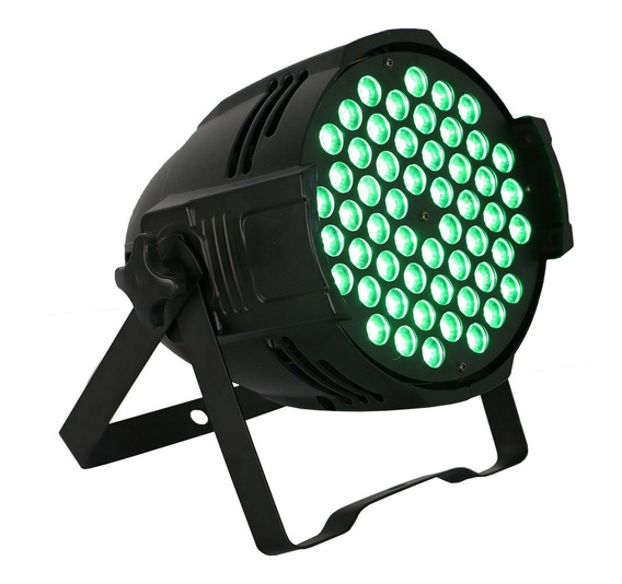 Kit Refletor Par 54x3w Optipar Triled Rgb Original