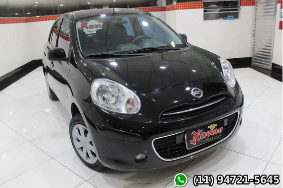 Nissan March S 1.6 Preto 2014 Financiamento Próprio 3040