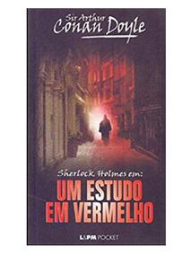 Sherlock Holmes: Um Estudo Em Vermelho. Livro De Bolso.
