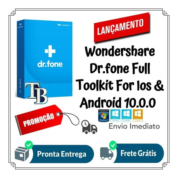 Wondershare Dr.fone Toolkit Ios & Android 10.0.0 Pt Win