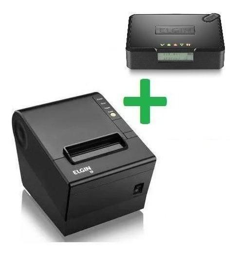 Kit Sat Fiscal Elgin Smart + Impressora I9 Usb Elgin Guilhot