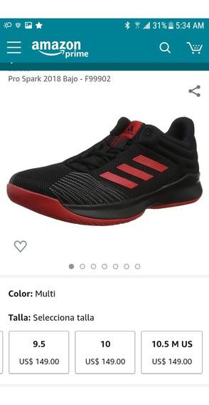 Zapatos adidas Pro Spark Talla 12 (originales)
