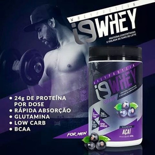 I9 Whey Suplemento Para Massa Muscular Masculino