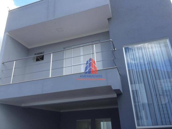 Sobrado Com 3 Dormitórios À Venda, 178 M² Por R$ 500.000,00 - Loteamento Residencial Jardim Esperança - Americana/sp - So0237