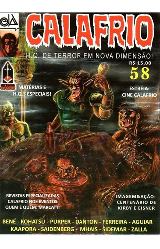 Imagem 1 de 1 de Calafrio - Diversos Numeros - Ink&blood - Bonellihq