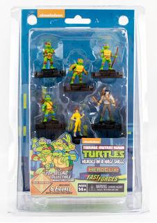 Heroclix Turtles 90´s Set De Miniaturas