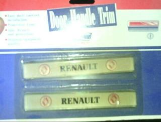 Pack Calcomania Para Manilla Puerta Renault Universal(par)