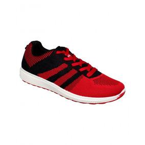 Tenis Casual Textil Rojo-mod.1190sp7391511