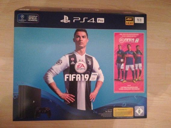 Consolas De Videojuegos Sony-play-station 4 Pro 1tb Fifa 19