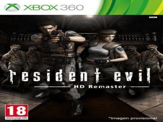 Resident Evil Hd Remaster Xbox 360 Original Mídia Digital
