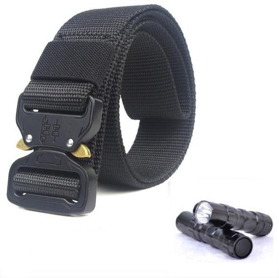 Cinturón Táctico Tipo Asalto Militar Hebilla Metalico+regalo