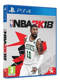 Juego Fisico Original Nba 2k18 Sony Playstation Ps4 Oficial