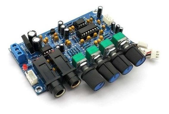 2 Placa Pre Amplificador Karapke, Echo Reverberaçao