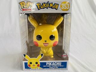 Pikachu (pokemon) Funko Pop Muñeco 15 Cm Con Envio Gratis