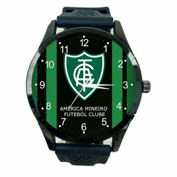 Relógio America Mineiro Unissex Futebol Esporte Novo Mg T458