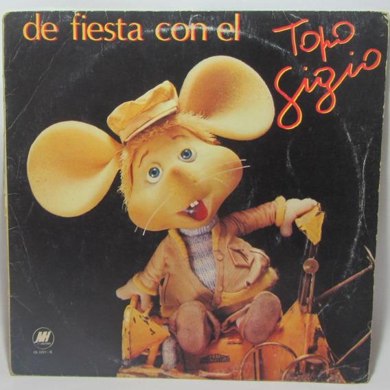 Topo Gigio, De Fiesta Con El Topo Gigio, Vinilo Lp 1985
