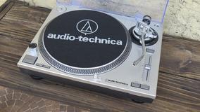 Toca Discos Áudio Technica Lp-120 Usb