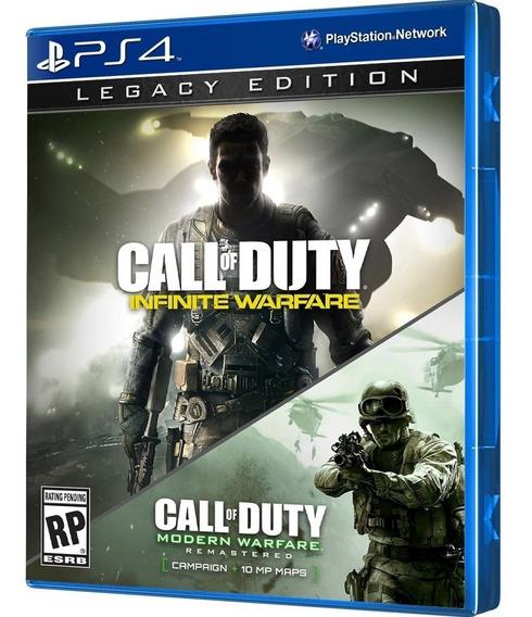 Jogo Call Of Duty Infinite Warfare Legacy Edition Espanhol P