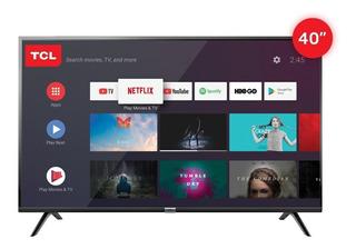 Smart Tv Android 40 Tcl L40s6500 Control Por Voz!