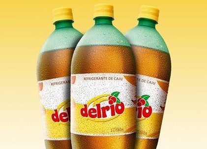 Imagem 1 de 1 de Refrigerante De Caju Delrio 2 Litros