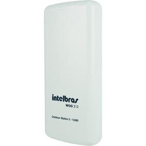 Roteador Antena Wireless Intelbras Wog 212 Cpe 2.4ghz 12dbi