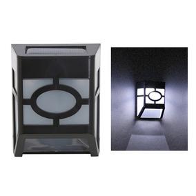 Luzes De Cerca De Montagem De Parede Movido A Energia Solar