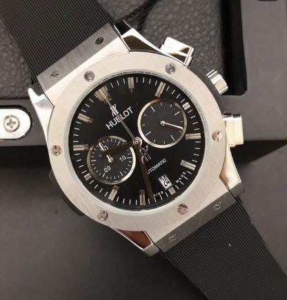 Relógio Masculino Hublo Classic Mostrador Preto