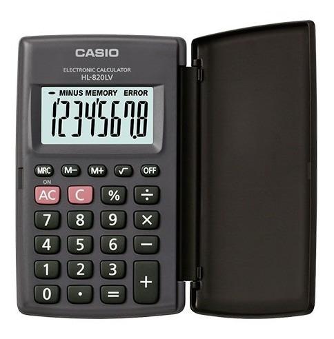Paquete De 10 Calculadoras Portátil Casio Hl-820lv