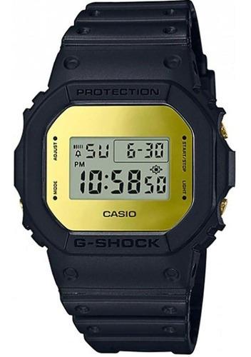 Relogio Casio G-shock Dw-5600bbmb-1dr Espelhado Dourado