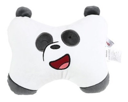 Almofada Para Encosto Ursos Sem Curso Miniso - Panda