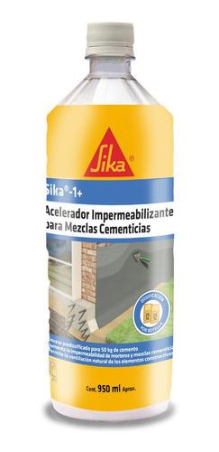 Imagen 1 de 6 de Sika 1 Aditivo Impermeabilizante 950 Ml