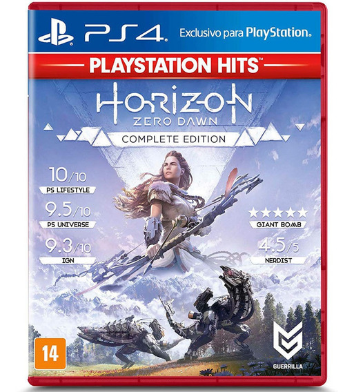 Jogo Ps4 - Horizon Zero Dawn Complete Edition Hits - Playsta