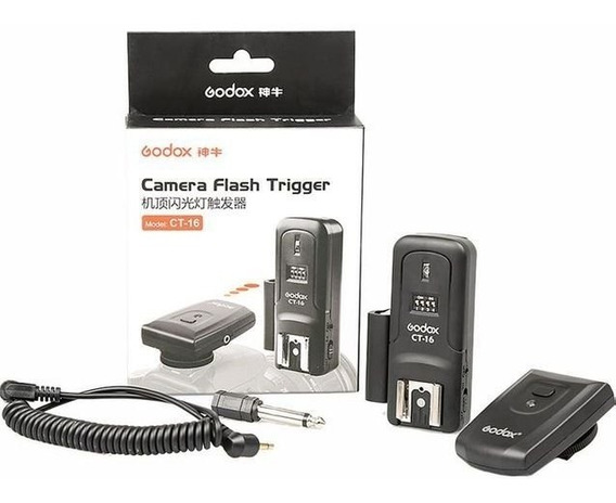 Radio Flash Godox Ct-16 Tipo Ct-04 Para Flash Tocha Estudio