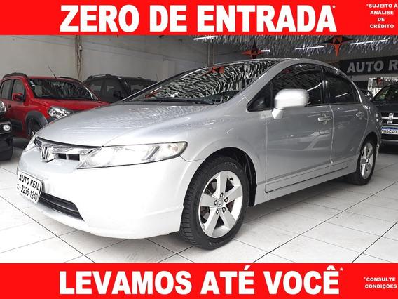 Civic / Honda Civic Lxs 1.8 Flex 2008 / Carro Barato É Aqui