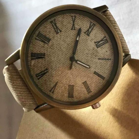 Relógio Casual Em Tecido