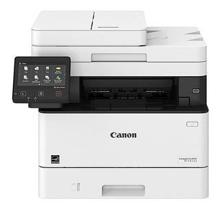 Impresora multifunción Canon ImageClass MF424DW con wifi 120V - 127V blanca y negra